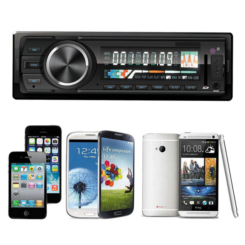 Bluetooth Car Stereo Audio In-Dash FM Aux Input Receiver SD USB MP3 Radio