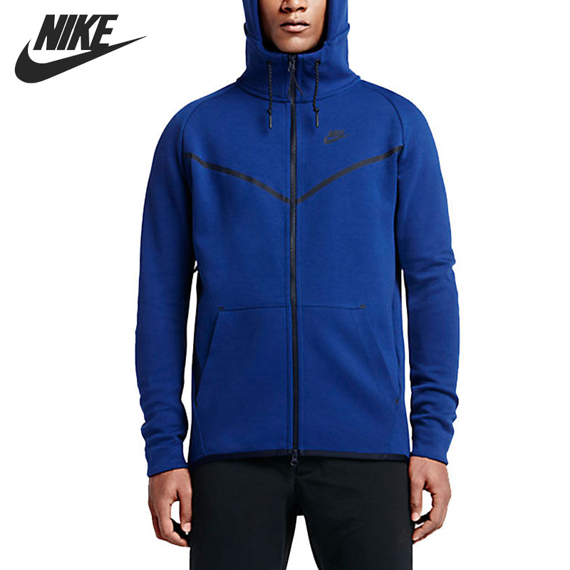 Original New Arrival  NIKE Men's Jacket Hooded Sportswear