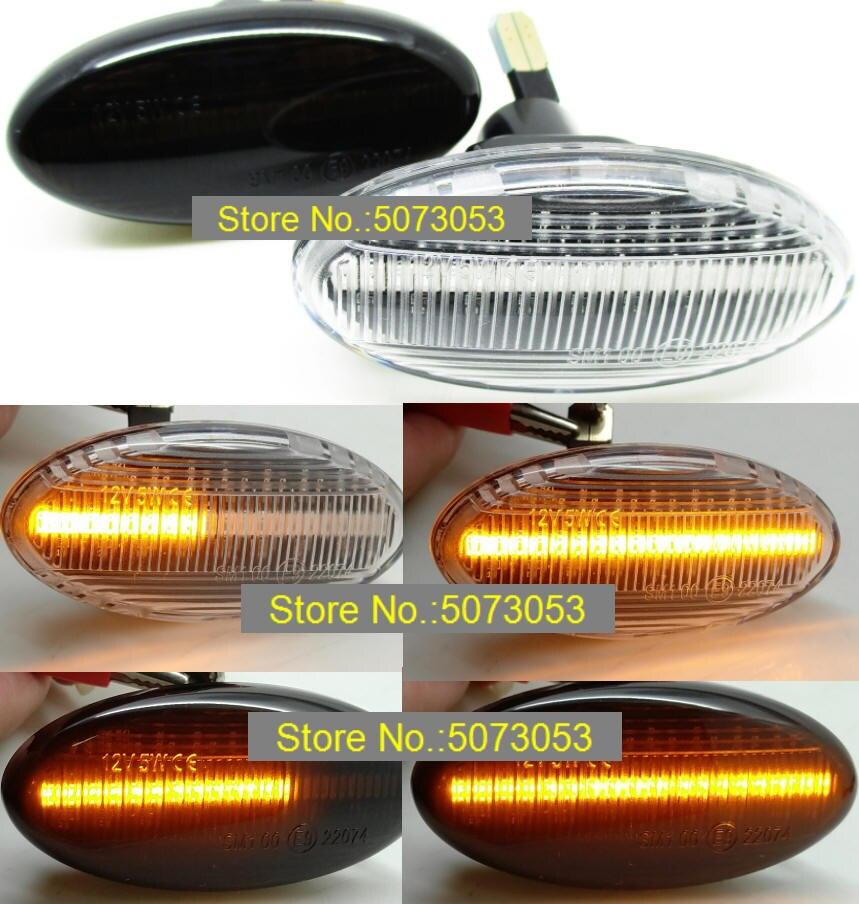 Suzuki Clear Rear Left Hand Turn Signal Light Lens