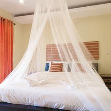 Uniwersalna siatka przeciw komarom siatka z worek do przechowywania Dome wiszące moskitiera na łóżko dla pojedynczego do duży rozmiar łóżka hamaki łóżeczka tanie tanio CN (pochodzenie) Jednodrzwiowe Uniwersalny circular Domu Dome Mosquito Mesh Other Wisiał dome moskitiera Owadobójczy traktowane
