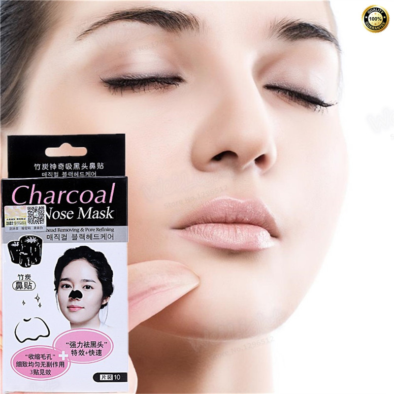 Masks to remove blackheads Black head Better than Bamboo charcoal Facial face mask Skin Care Fast remove blackheads Acne