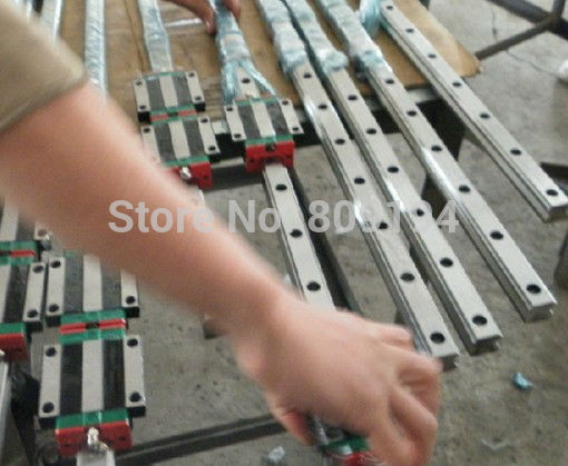 HIWIN linear guide HGR20-3500MM 2PCS HGR20-2000MM 2PCS HGR20-400MM 2PCS HGH20 12PCS hiwin linear guide hgr20 3500mm 2pcs hgr20 2000mm 2pcs hgr20 400mm 2pcs hgh20 12pcs