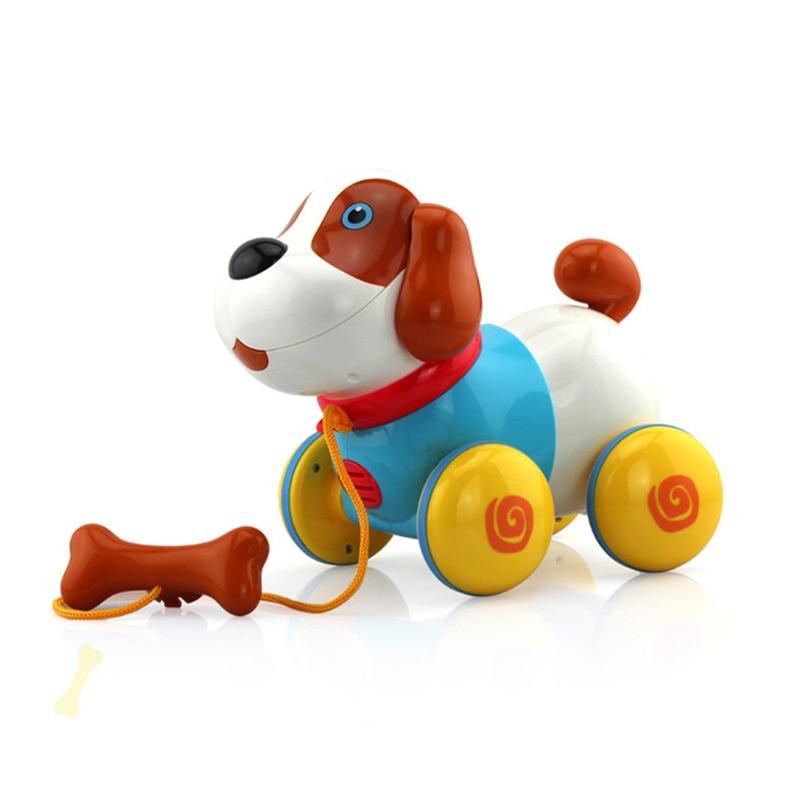 Intelligente cane macchina tirare cane maschio e bambino di sesso femminile per bambini giocattolo regalo di festa - 4