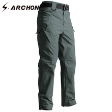 S.ARCHON IX9 Tactical Style Pants Autumn Military Army SWAT Combat Cargo Pants Men Casual Quick Dry 3 colors Solid Trousers цена