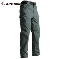 S. ARCHON IX9 Тактический Стиль брюки осень военная армия спецназ армейские брюки-карго Для мужчин Повседневное быстросохнущая 3 вида цветов