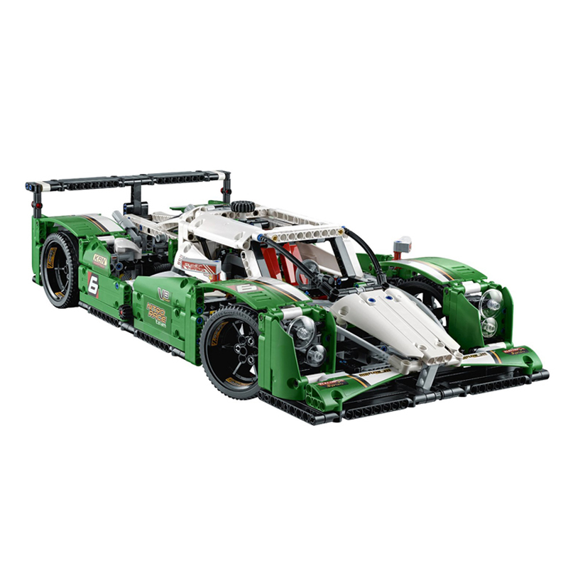 Lepin 20003 Technic Series The 24 hours Race Car Building Assembled Blocks Bricks Enlighten Toy 42039 keenway keenway игровой набор дом моей мечты