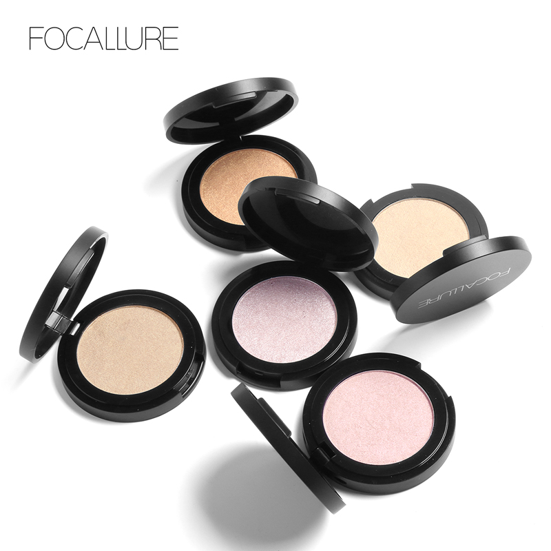Focallure 5 Colors Highlighter Powder Makeup Imagic Shimmer Illuminator Women Face Contouring Makeup Corrector Primer Cosmetics in Bronzers Highlighters from Beauty Health