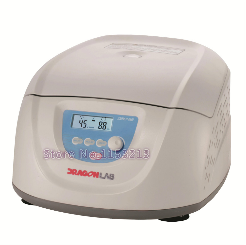 Dragon lab DM0412 Clinical Centrifuge 15ml * 8, or 10ml/7ml/5ml * 12, Dlab Slow Speed Centrifuge 300-4500rpm, Brushless DC motor clinical