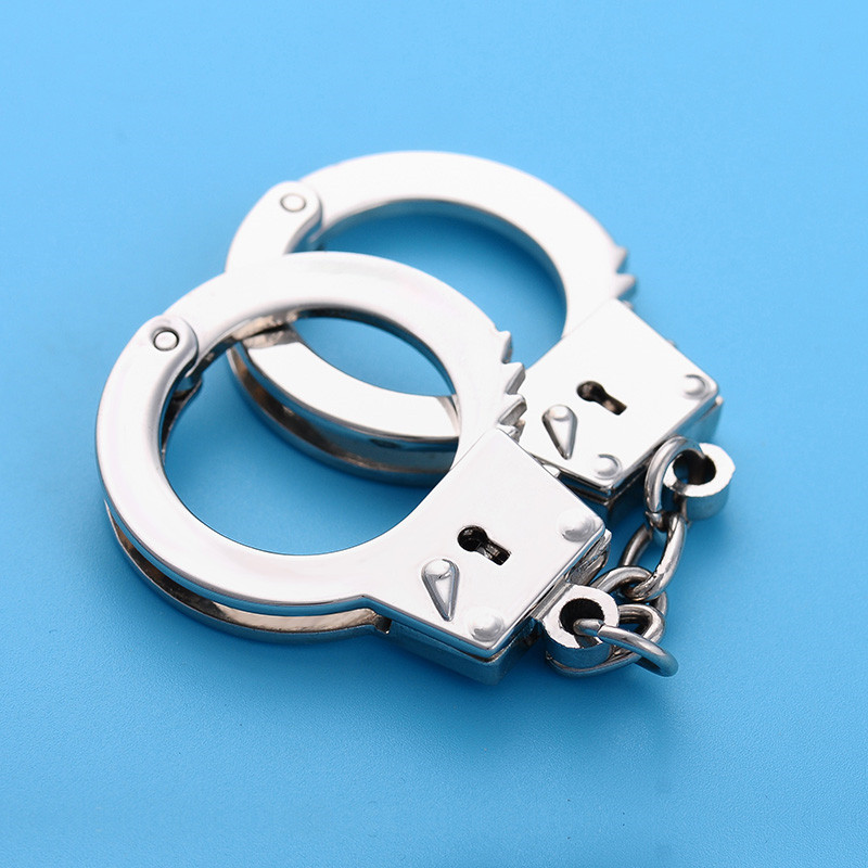 Творческий металлический ключ моделирование открывалка брелок мини моделирование игрушечные наручники брелок из металла новые прекрасны...