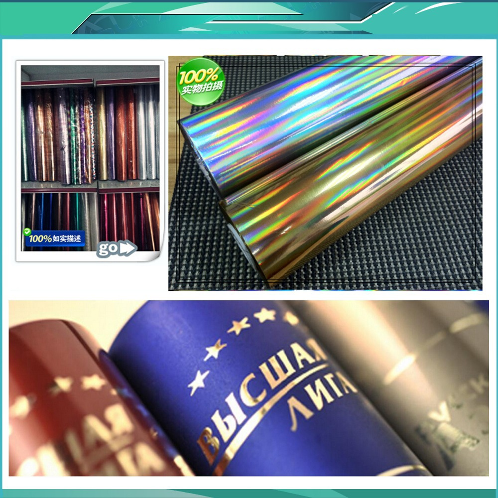 Laser gold/Silver Hot Stamping Foil Paper,Laser Foil Paper,Leather,Cigarette Box,Mobile Phone Box Stamping Machine Foil Paper small cigarette box vending machine bjy b50 with light box