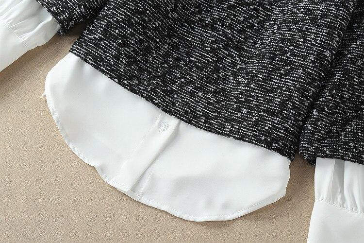 Formelle longueur Mode Gray Femmes Printemps De Plein Ceintures Piste Nl2549 Pantalon Lâche 2018 Deux Top Cheville Manches Pcs Tenue Imprime Plaid Coat xUwOIqx