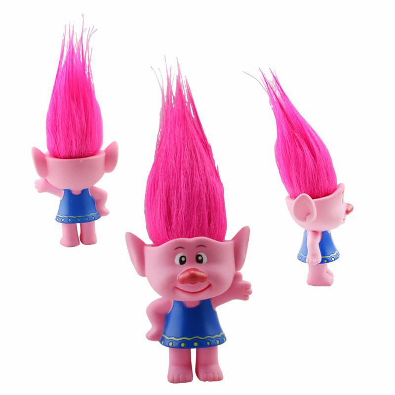 1pc New Movie Trolls action toys with box Poppy Branch Critter Skitter PVC Figures Trolls toys for Children
