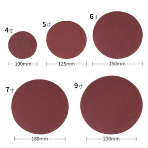 Sandpaper Abrasive-Tools-Accessories Grit Sanding-Disc Self-Stick Dremel 1PC for 100-225mm