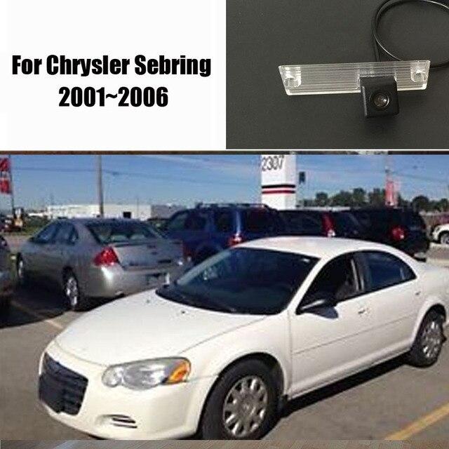 Car Rear View Camera For Chrysler Sebring 2001 2006 Reverse Hd Ccd Dvd Dvr Gps License Plate Light Oem