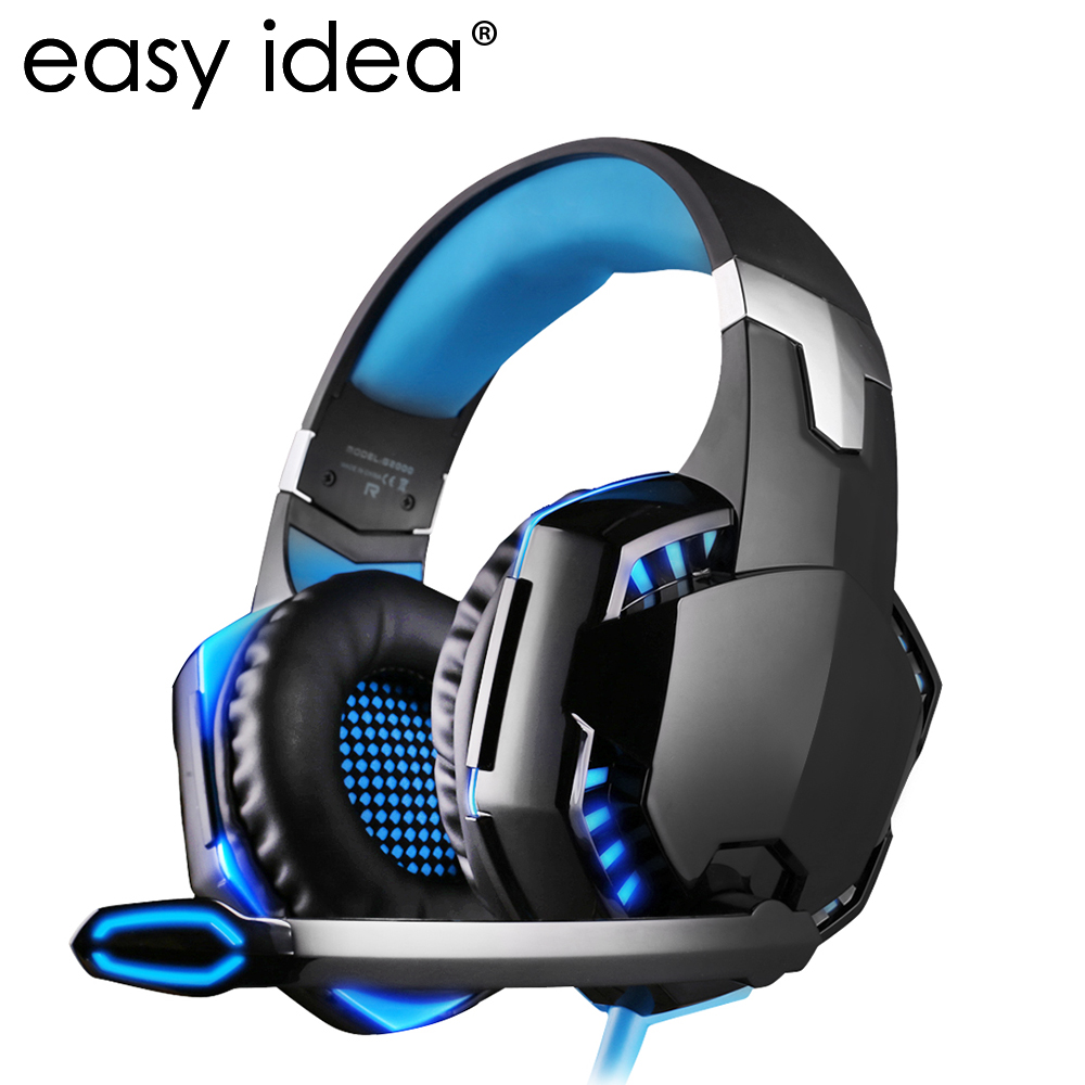 EASYIDEA G2000 Gaming Headset Wired Earphone Gamer s