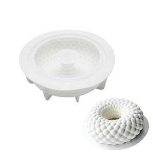 Silicone Cake Mold Wave Circle