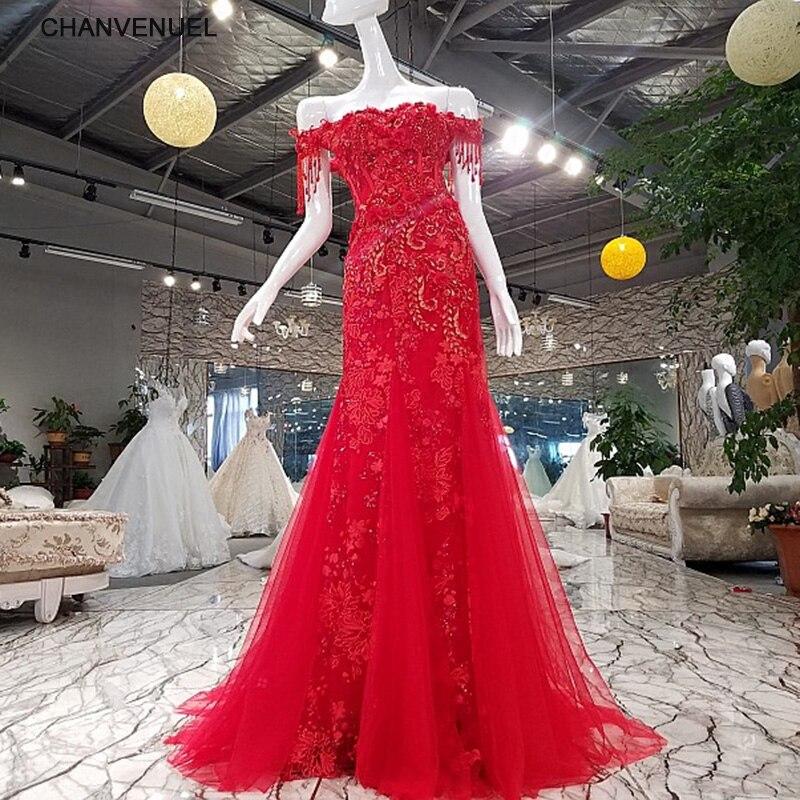 LSGF922 sereia festa de noite vermelho vestidos de fiesta fotos reais