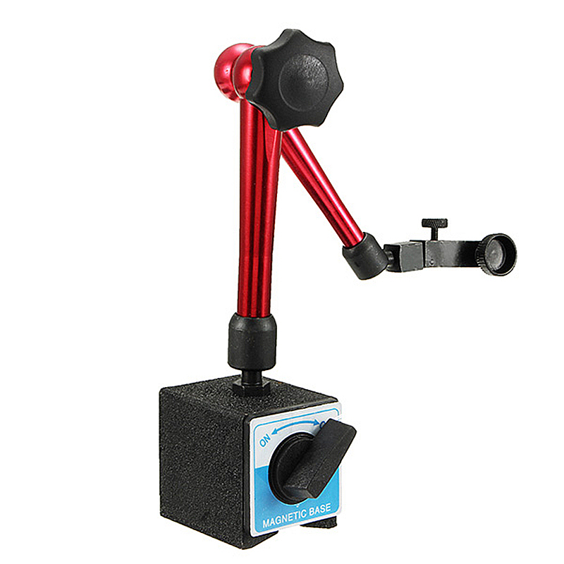 Height 350mm Big Universal Flexible Magnetic Base Holder Stand Tool & Dial Indicator Test New