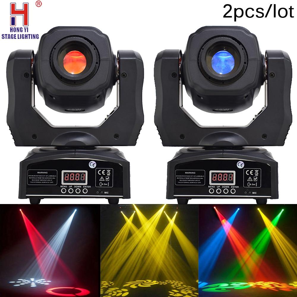 LED mini spot 60w moving head light DMX512 high brightness for dj stage equipment 2PCS/LOTLED mini spot 60w moving head light DMX512 high brightness for dj stage equipment 2PCS/LOT