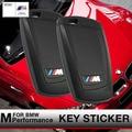 Motorsport M Performance Styling Key Trim 3D Car Sticker M Emblem Logo For BMW X1 X 1 3 4 5 6 M3 325i GT F30 F35 F18 F20 Series