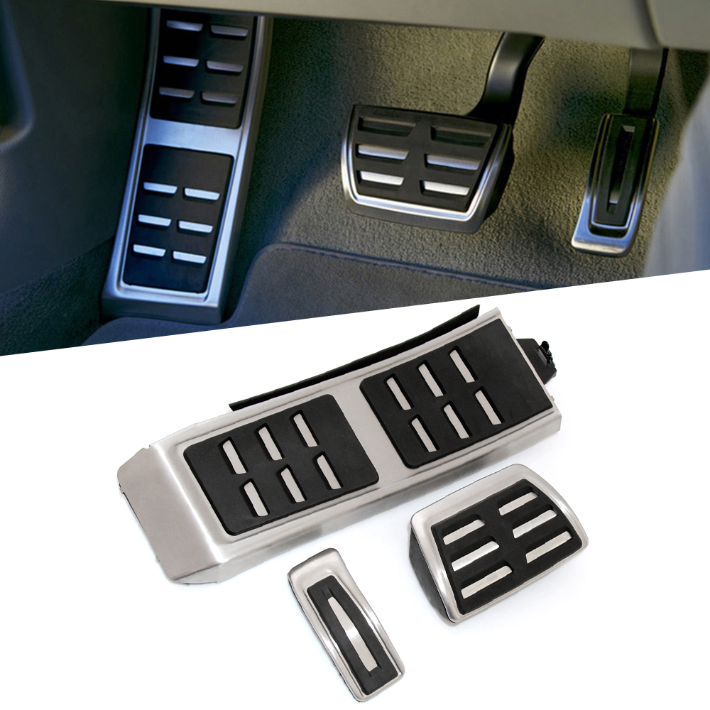 Car Styling,Gas Brake Foot Pedal Set Rest Fuel Pedals Fit