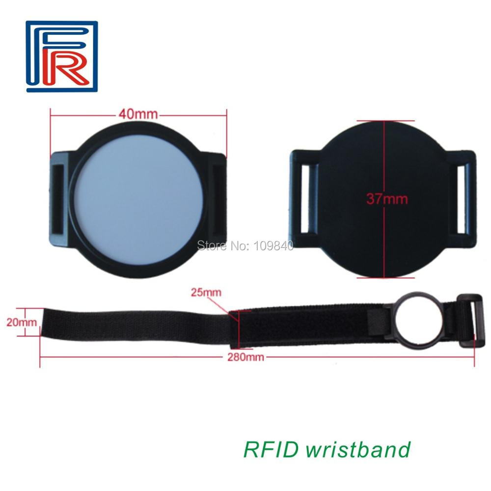 1000pcs 13.56MHz Nylon RFID wristband/bracelet with M1 S50 chip for access control/NFC/E-ticket rfid 125khz wristband with em chip waterproof abs bracelet for access control swimming pool fitness suana water park 100pcs lot