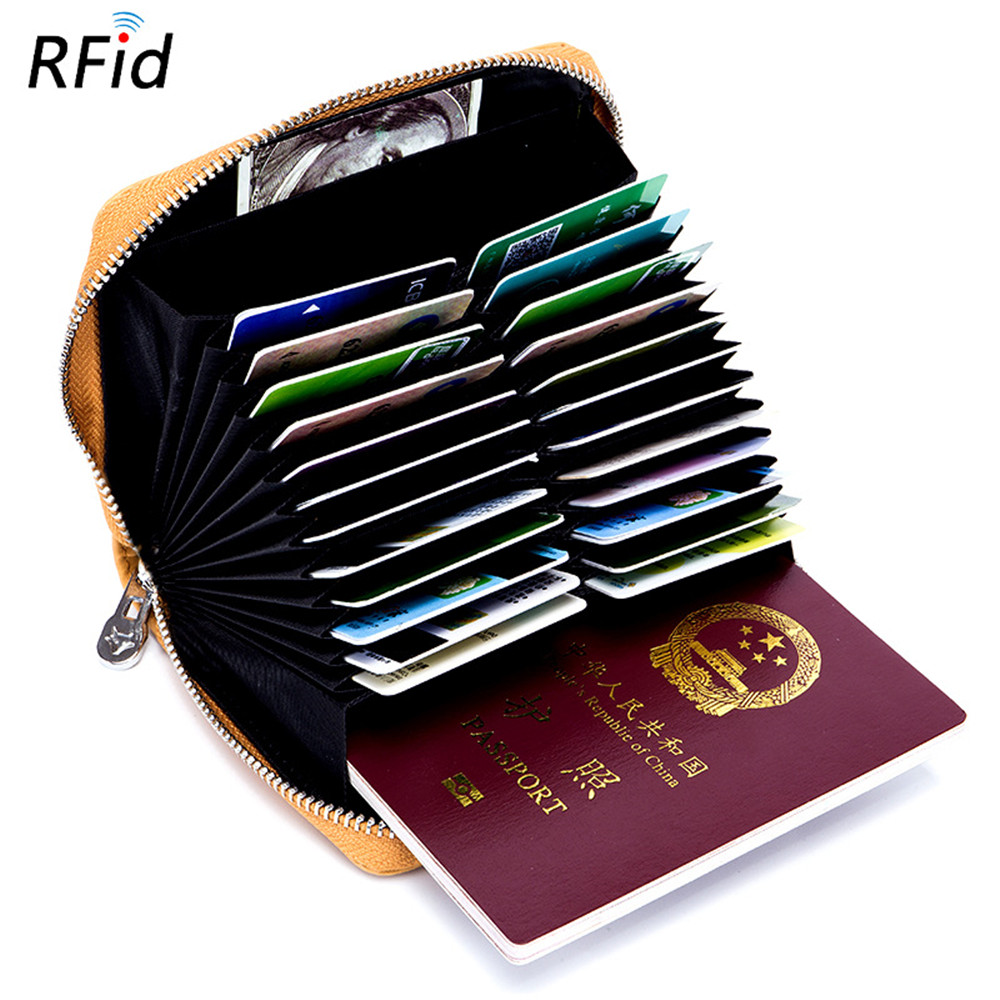 New Arrival Unisex  Crad Holder Large Capacity  Credit Card Holder Split Leather Small Card Wallet Zipper Coin Purse Best GiftNew Arrival Unisex  Crad Holder Large Capacity  Credit Card Holder Split Leather Small Card Wallet Zipper Coin Purse Best Gift