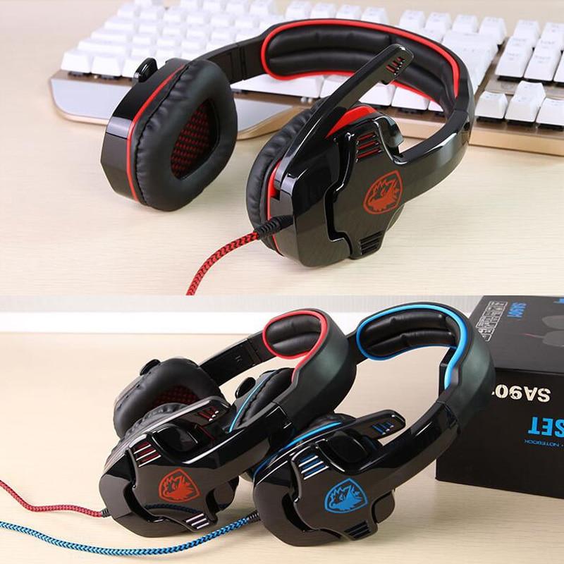 Sades Wolfang Gaming Headset USB 7.1 Sonido envolvente Bajo Juego - Audio y video portátil - foto 2