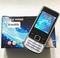 """Caixa de Metal teclado Russo telefone 2.2 """"dual SIM telefones celulares gsm original do telefone móvel da Vibração Celulares baratos Da China"""
