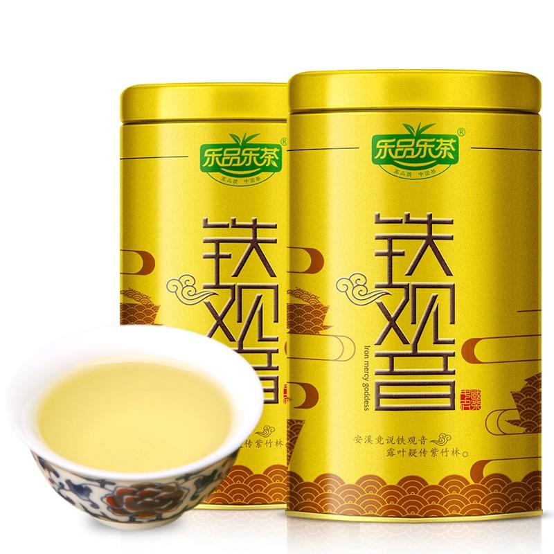 126g * 2 2 Pcs 126g Tieguanyi Luzhou-aromatisierte Oolong-tee Anxi Tiekuanyin Orchidee Herbst Grün 252g Top Grade