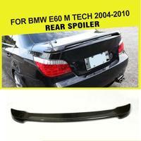 탄소 섬유 자동차 스포일러 트렁크 립 윙 자동차 스타일링 BMW E60 528I 530I 525I 535I 2004-2010