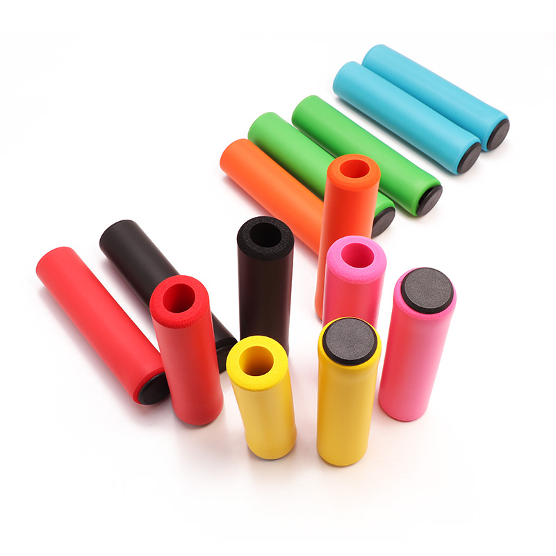 1Pair Bicycle Soft Foam Sponge Handlebar Grips Cover Outdoor Mountain Cycling Bmx Mtb Bike Silicone Grip Anti-slip Handle Bar