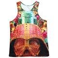 Movie Character Tank Tops Men 3D Print Bodybuilding Stringer Vest Summer Singlets Fashion Sleeveless Shirt Cool Graphic Jersey