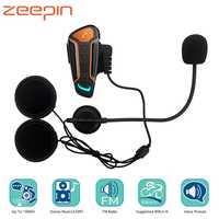1000 m Bluetooth Intercom Motorrad Helm Headsets für 3 Reiter BT Wireless Walkie Talkie Moto Stereo Sprech MP3 GPS FM radio