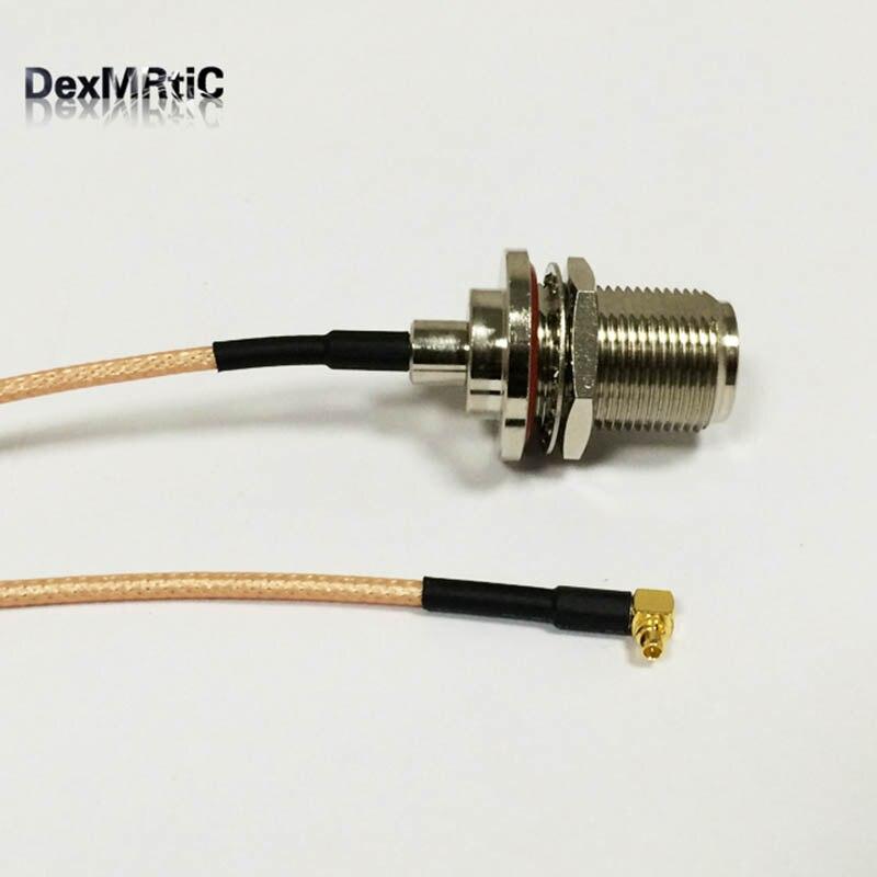 Rf MMCX мужчины прямым углом переключатель N женский косичка кабель RG316 оптовая продажа быстрая доставка 15 см