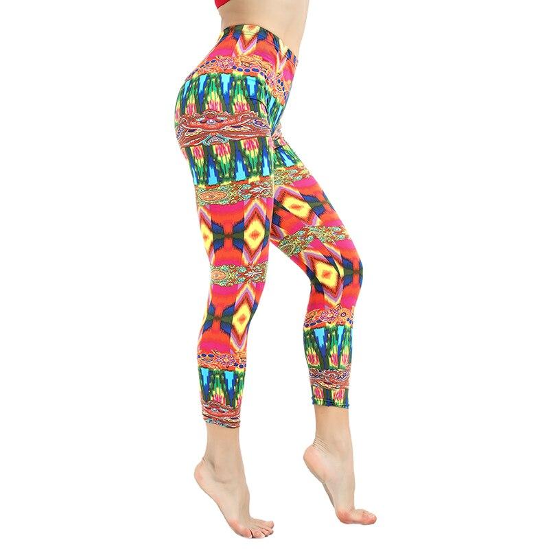 workout   leggings   Women leggins Print   Leggings   High Waist Women Sportwear Clothes Pink Fitness Leggins Trousers Clothing