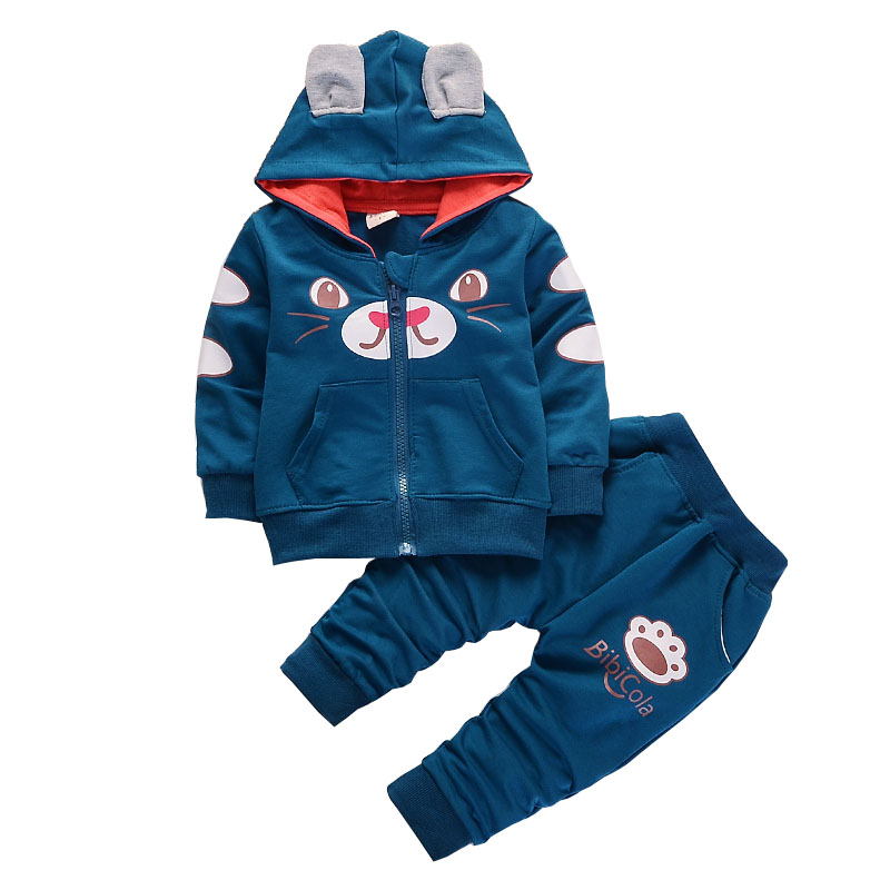 BibiCola spring autumn boys Clothing Set kids clothes sets children boys casual 2 pcs suit jackets hoodies+pants boys sport suit new batman boys clothing sets spring cotton captain america baby clothes suit children shirts pants 2 pieces suit kids clothing