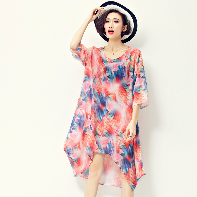 Aliexpress.com : Buy Gamiss Plus Size Tropical Floral A