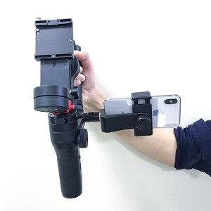 Image 3 - Phone Holder for Zhiyun Weebill Lab Hohem ISteady Pro Feiyu G6 Plus DJI Ronin S Osmo Gimbal Smartphone Mount Tripod Bracket