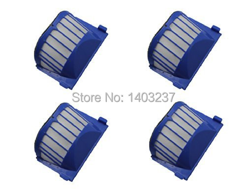 4 x Aero Vac Filter for iRobot Roomba 500 600 Series 536 550 551 620 650 Vacuum Cleaner Accessory битоков арт блок z 551