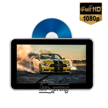 купить 10.1 inch Headrest Monitor DVD Player Car Rear Seat Media DVD Player with Key operation дешево