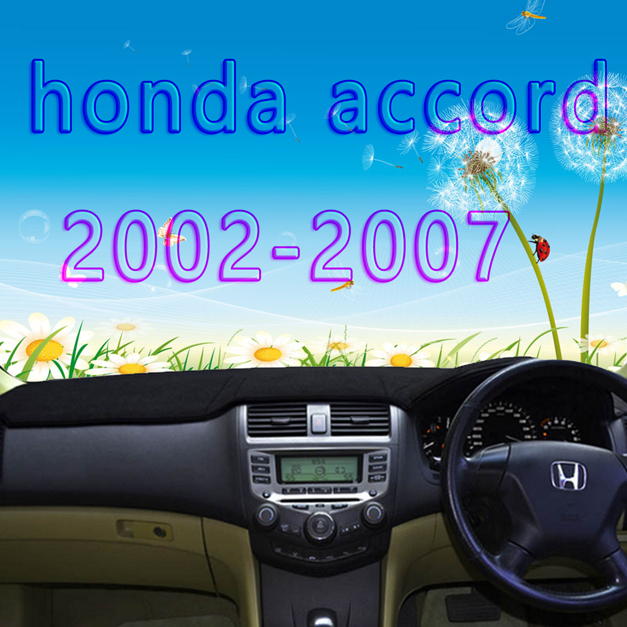 dashmats car-styling accessories dashboard <font><b>cover</b></font> for <font><b>honda</b></font> <font><b>accord</b></font> 2002 2003 2004 2005 2006 <font><b>2007</b></font> generation rhd image