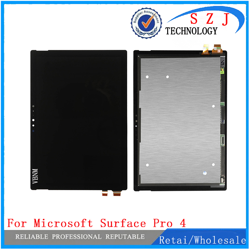 New For Microsoft Surface Pro 4 Pro4 V1.0 1724 LTN123YL01-001 V1.0 Lcd Display With Touch Screen Panel Assembly Free Shipping