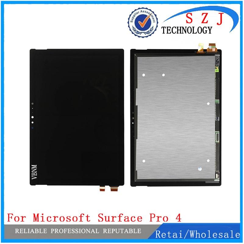 все цены на New case For Microsoft Surface Pro 4 V1.0 1724 LTN123YL01-001 V1.0 lcd display touch screem Assembly Free Shipping онлайн