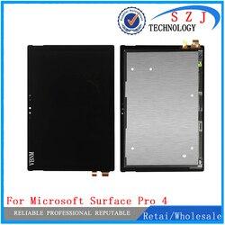 Nuovo Per Microsoft Surface Pro 4 Pro4 V1.0 1724 LTN123YL01-001 V1.0 display lcd con pannello touch screen di Trasporto Montaggio Libero