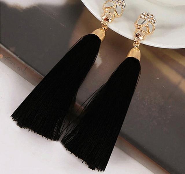 Comprar corea del estilo de oro del cr neo - Como hacer borlas de hilo ...