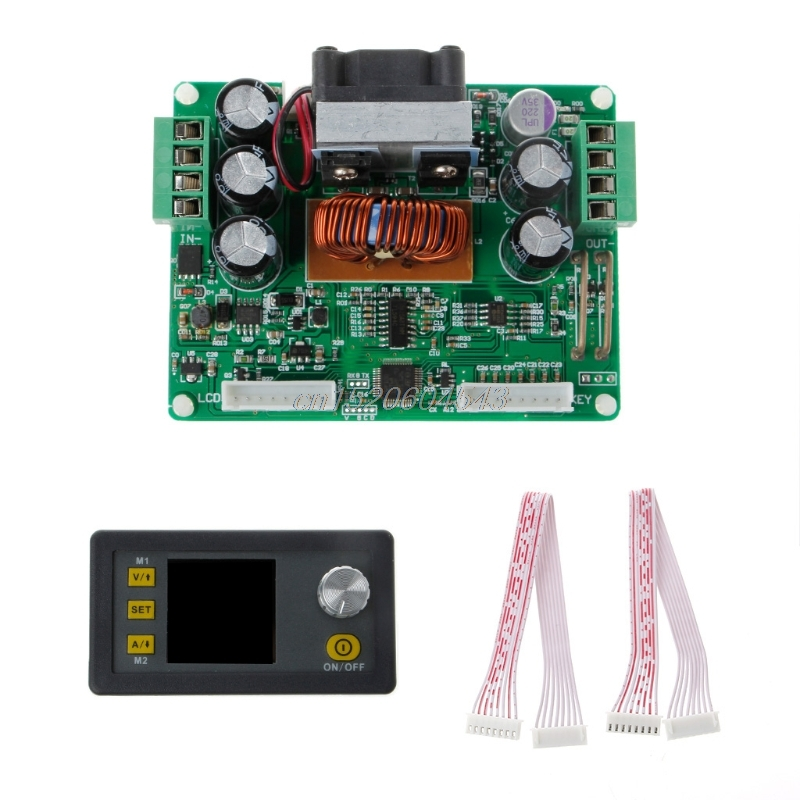DPS3012 Current Voltage Programmable Constant Step-down Power Module Supplying buck converter Voltage LCD voltmeter 32 V 12A 30pcs lot by dhl or fedex dps3005 communication function step down buck voltage converter lcd voltmeter 40%off