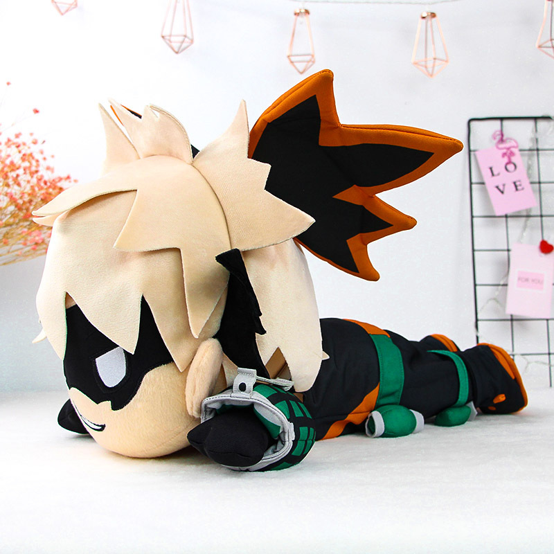 Janpanese Anime My Hero Academia Soft Stuffed Plush Toys My Hero Pillows Plush Doll Toys For Children Christmas Pillow Gifts