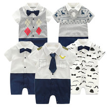 Baby Romper Summer Baby Girl Clothing Set Short Sleeve Baby Boy Clothes Kid Girl Clothes Cotton Baby Boy Romper Newborn Jumpsuit(China)