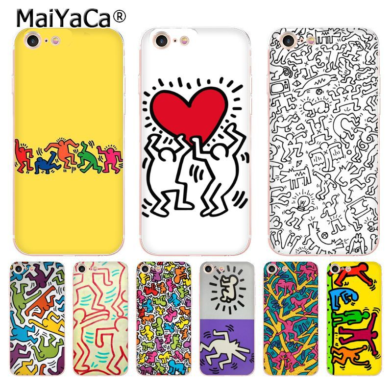 iphone 7 case keith haring